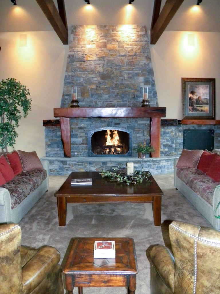 Aspen Lakes Fireplace